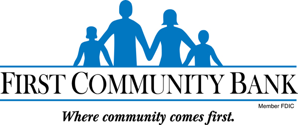 First Community Bank Member F D I C Where community comes first.